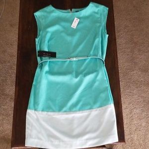 NWT Limited Size M Teal Dress